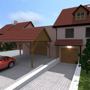 Návrh garáže
